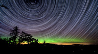 5 hours of Northern Lights and Star Trails