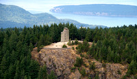 Lookout Tower on Mt. Constitution