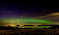 Northern Lights Over Griffin Bay