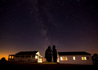 Milky Way Over General Pickett's House